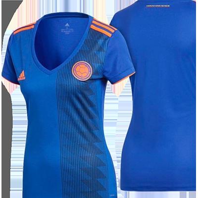 Camisa Azul con Naranja de la Copa Mundial